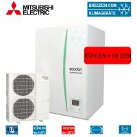 Set ERSE-YM9EC Hydrobox + Wärmepumpe PUHZ-SW160YKA Kühlen und Heizen