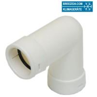 RDP20/25/32-C90 Kniestück 90° für Abflussrohr (20/25/32 mm)
