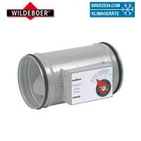 Volumenstromregler mit Lippendichtungen (DN 80-315/Dämmschale/Motor)