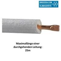 12mm Einzel-Kältemittelleitung isoliert