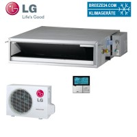 Set CB24L N22 Standard Inverter Kanalgerät + UU24W U44