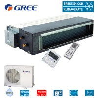 Set GFH-36-K3-4 Inverter Kanalgerät + GUHD-36-NM-4