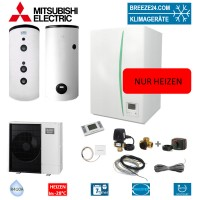 Set EHSC-YM9EC Hydromodul + Speicher + Wärmepumpe PUHZ-SHW112YAA
