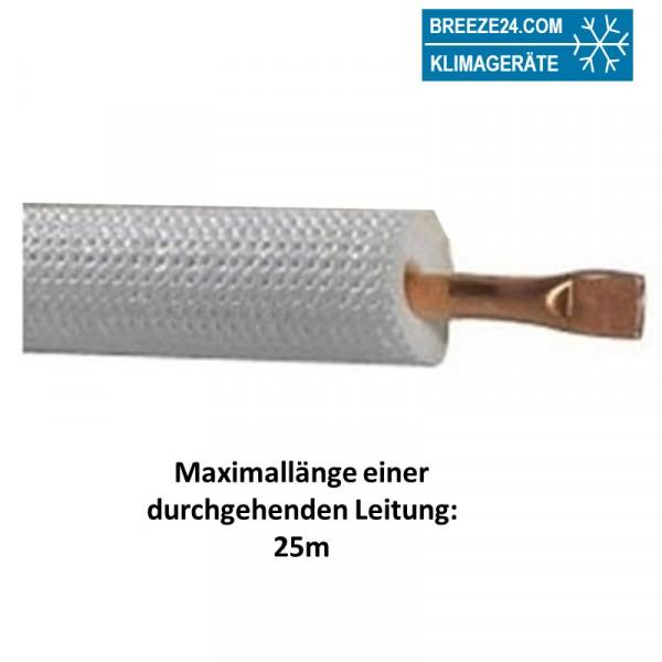10mm Einzel-Kältemittelleitung isoliert