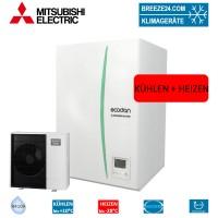 Set ERSC-VM2C Hydrobox + Wärmepumpe PUHZ-SHW80YAA Kühlen und Heizen