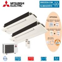 Set 2 x MLZ-KA25VA 1-Wege-Deckenkassetten + MXZ-2D42VA
