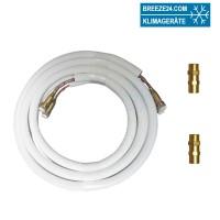 6/10 mm Quick Connect vorgefüllte Kältemittelleitungen