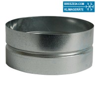 Wickelfalzrohr Muffe (DN 80 bis 500 mm)