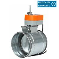 Absperrklappe (DN 100 - 630) + Motor LM (230V AC/24V AC)