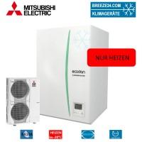 Set EHSC-YM9EC Hydrobox + Wärmepumpe PUHZ-SW120YHA nur Heizen
