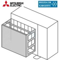 PAC-SH63AG-E Windschutzblende für Mitsubishi-Electric Außengeräte der PUHZ-Reihe