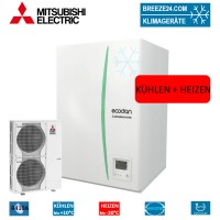 Set ERSC-VM2C Hydrobox + Wärmepumpe PUHZ-SW120YHA Kühlen und Heizen