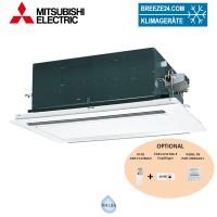 PLFY-P25 VLMD-E 2-Wege-Deckenkassette + Blende CMP-40VLW-C