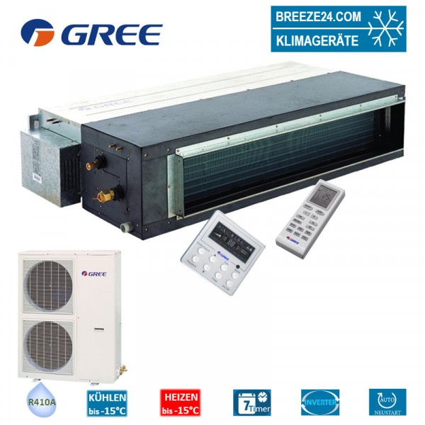 Set GFH-60-K3-4 Inverter Kanalgerät + GUHD-60-NM-4