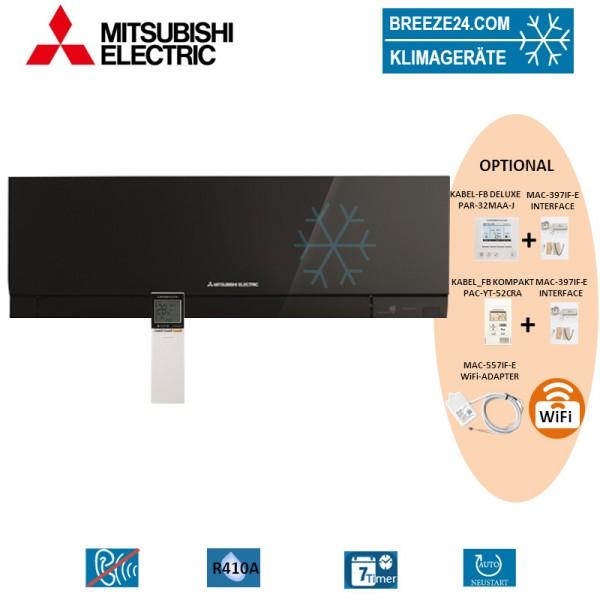 MSZ-EF42VE3 B Premium Wandgerät in Schwarz