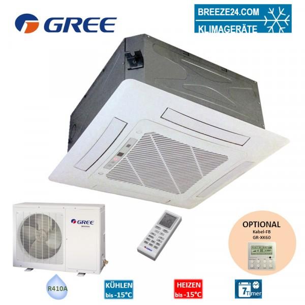Set GKH-24-K3-44-Wege-Deckenkassette + GUHD-24-NK-4