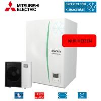 Set EHSC-YM9C Hydrobox + Wärmepumpe PUHZ-SW100YAA nur Heizen
