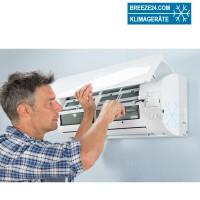 Montage u. Inbetriebnahmepauschale (pro Außeneinheit) für Klimageräte bundesweit ab